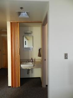 Hand Sink in Hallway